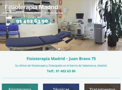 fisioterapia Madrid