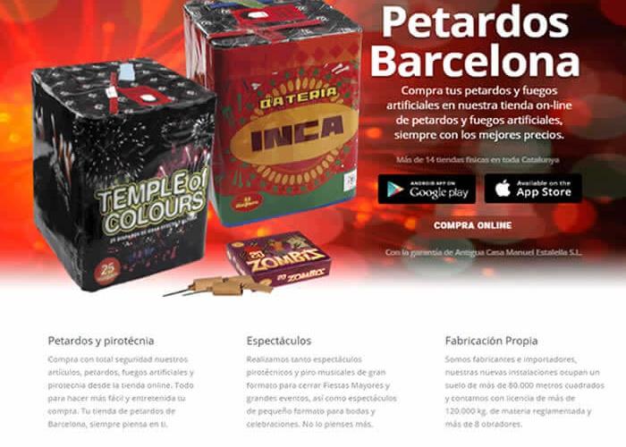 petardos Barcelona