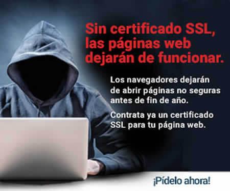 Certificado SSL en cada página web