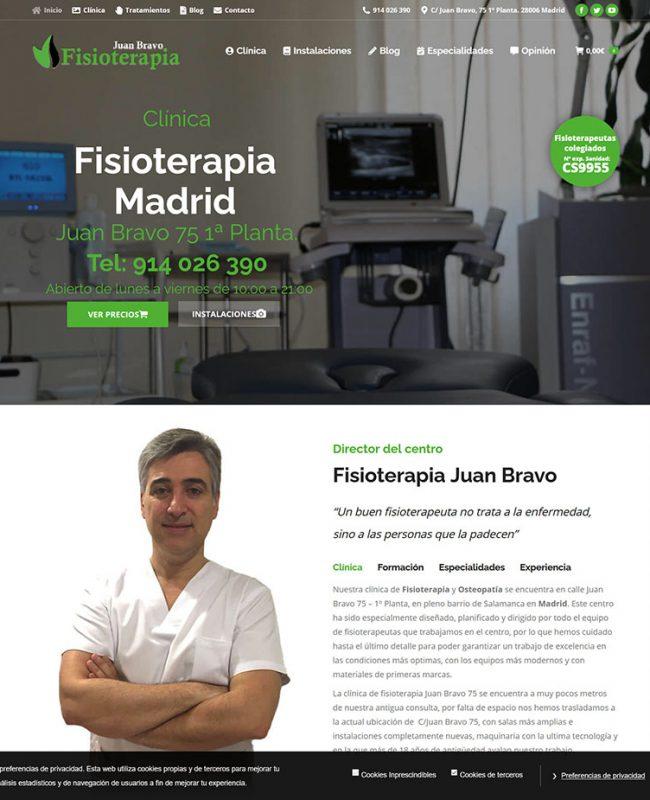 Fisioterapia Juan Bravo Madrid Fisioterapia y Osteopatía