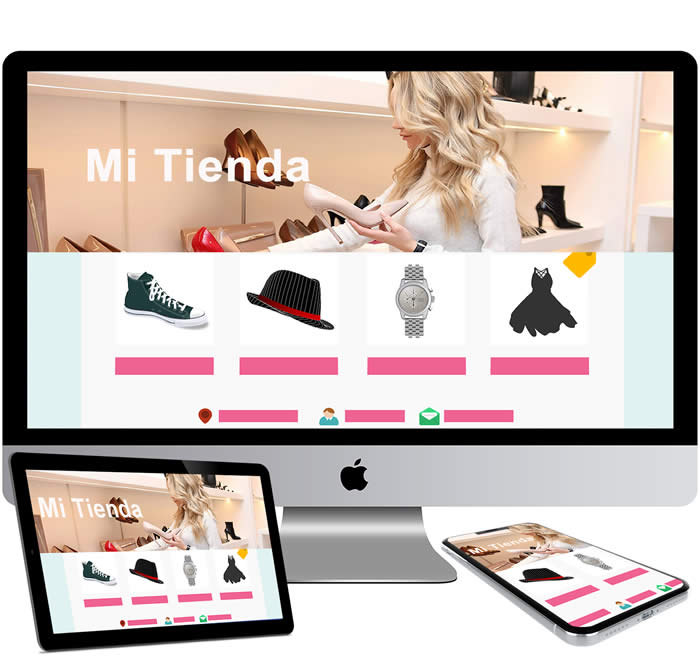 Diseño de Tiendas virtuales online